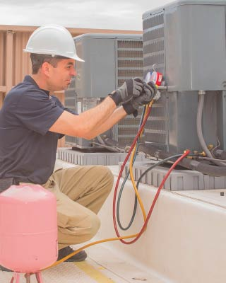professional installation of commercial heating and cooling